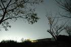 オリオン座と足柄観測所