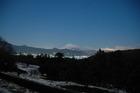 足柄平野と富士山