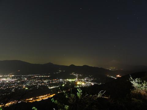 松田山からの富士